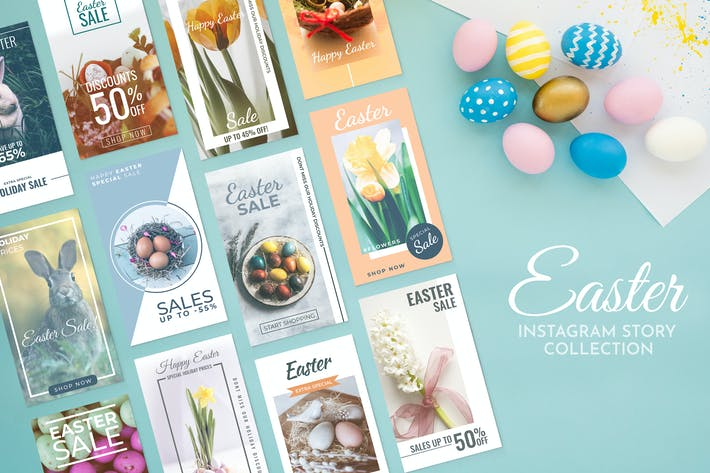Cover Image For Easter Instagram Story Template