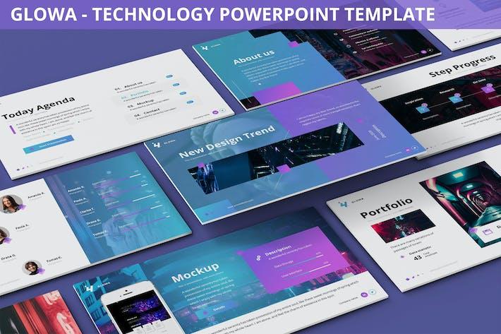 Thumbnail for Glowa - Шаблон технологии Powerpoint