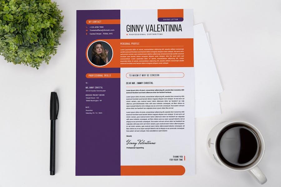 Creative Vitae CV Resume