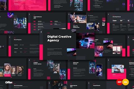 OFFER. - Digital Agency Presentation