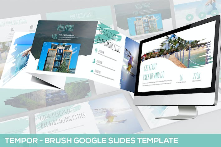 Thumbnail for Tempor - Brush Google Slides Template