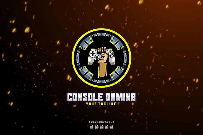 Console Gaming Punch Esport Logo