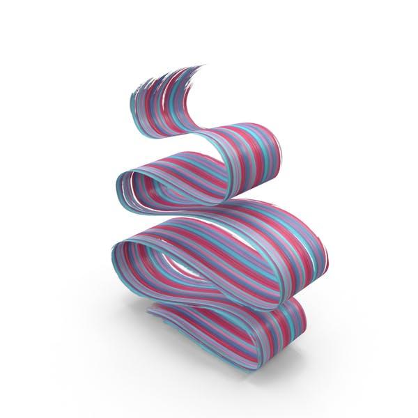 3D мазка кисти