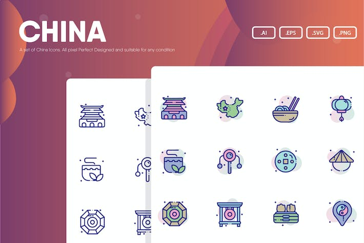 Thumbnail for China Theme Icon Pack