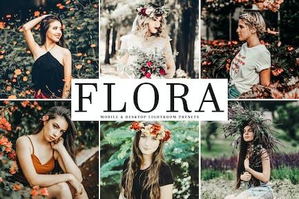 Flora Mobile & Desktop Lightroom Presets
