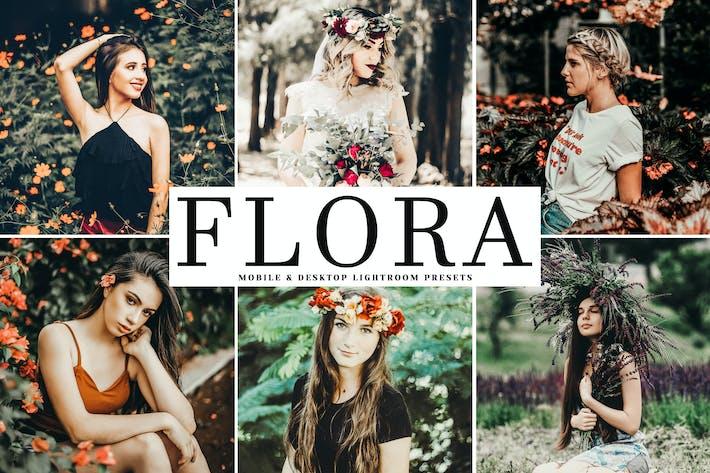 Cover Image For Flora Mobile & Desktop Lightroom Presets
