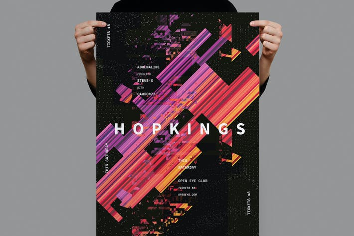 Thumbnail for Hopkings Poster / Flyer