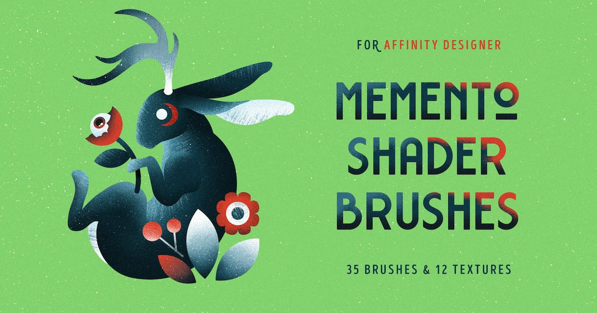 Download Shader Brushes for Affinity by pixelbuddha_graphic