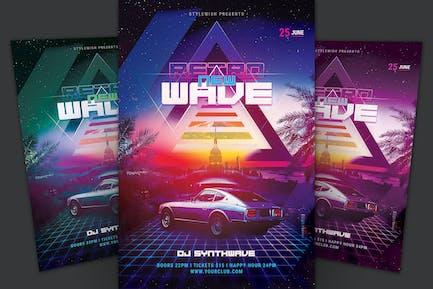 New Retrowave Flyer