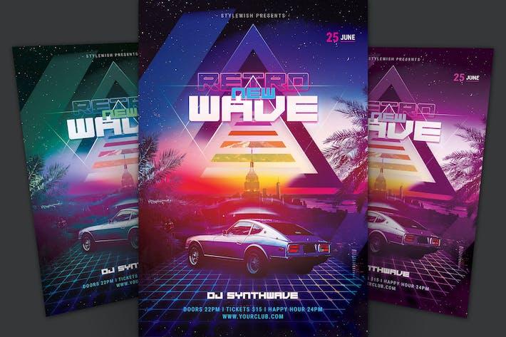 Thumbnail for New Retrowave Flyer