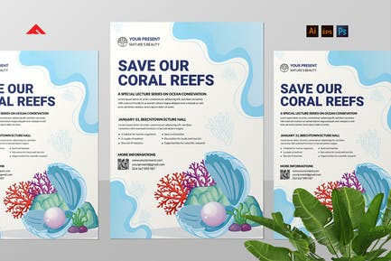 Save Coral Flyer