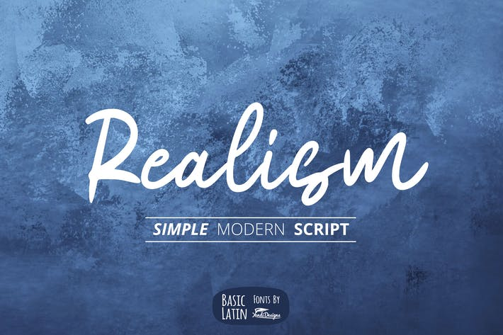 Thumbnail for Realism Font