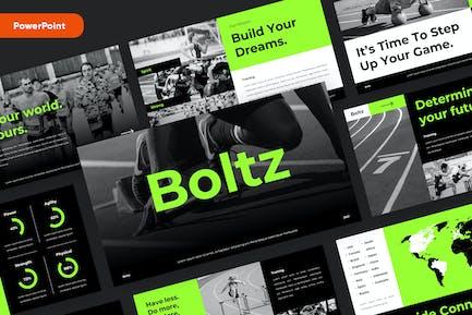 BOLTZ - Sport & Fitness Powerpoint Template