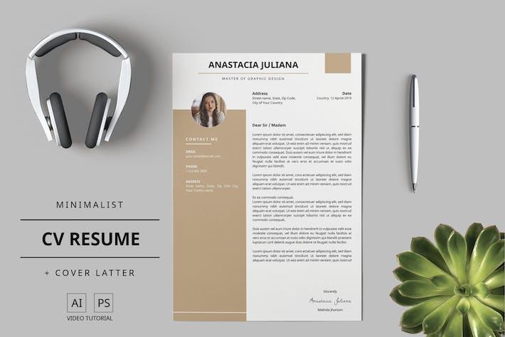 Thumbnail for Mytemp - Resume/CV Template v4