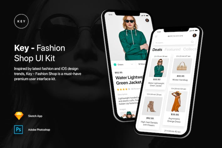 Thumbnail for Key - Fashion Shop UI Kit