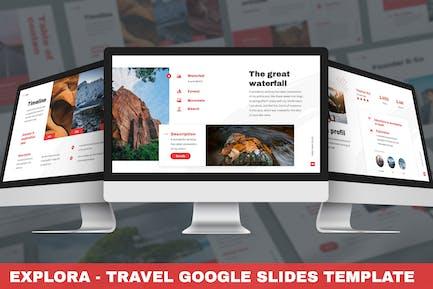 Explora - Travel Google Slides Template