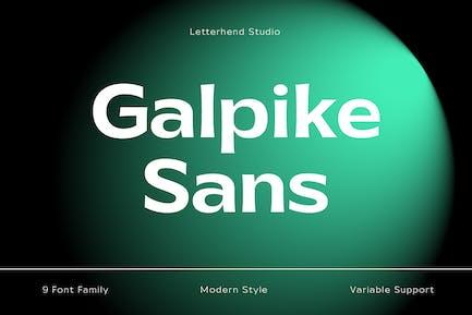 Galpike Sans