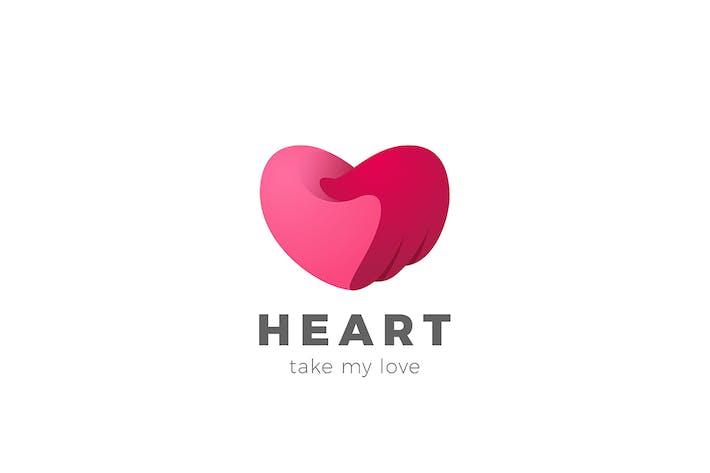 Thumbnail for Heart care Logo Valentine Day Love symbol
