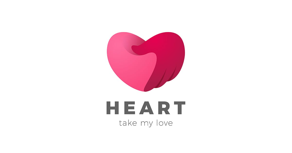 Download Heart care Logo Valentine Day Love symbol by Sentavio