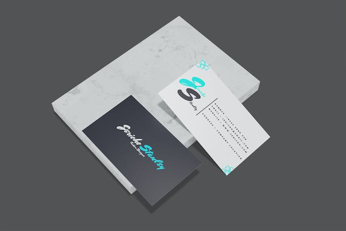 Thumbnail for elegant Business Card - Mockup