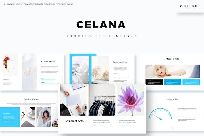 Cover Image For Celana - Google Slides Template