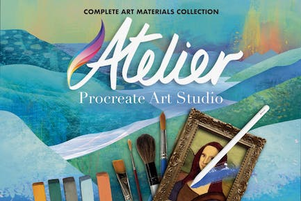 Procreate Complete Art Brush Collection