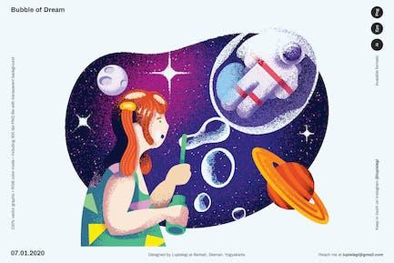 Bubble of Dream