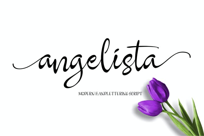 Thumbnail for Angelista Script