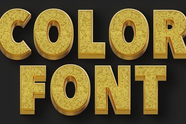 Thumbnail for Fancy Bold - Fuente SVG Color