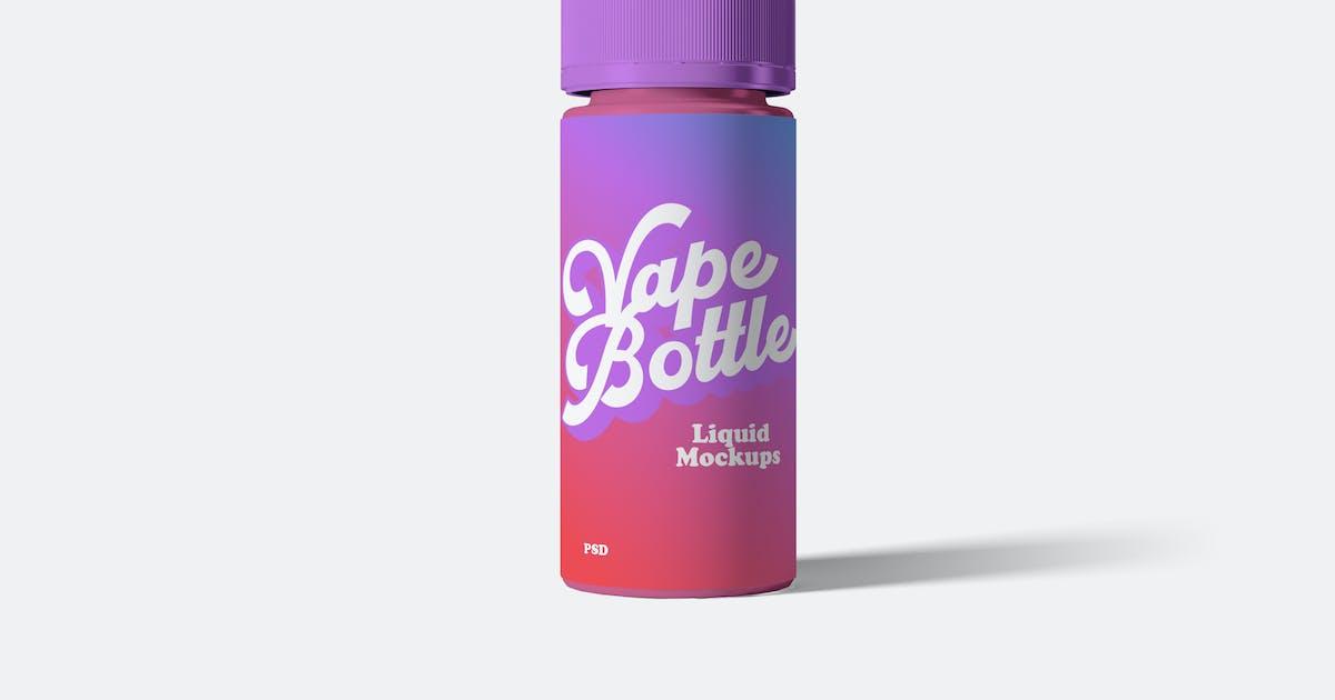 Download Vape Liquid Bottle Mockups by artimasa_studio