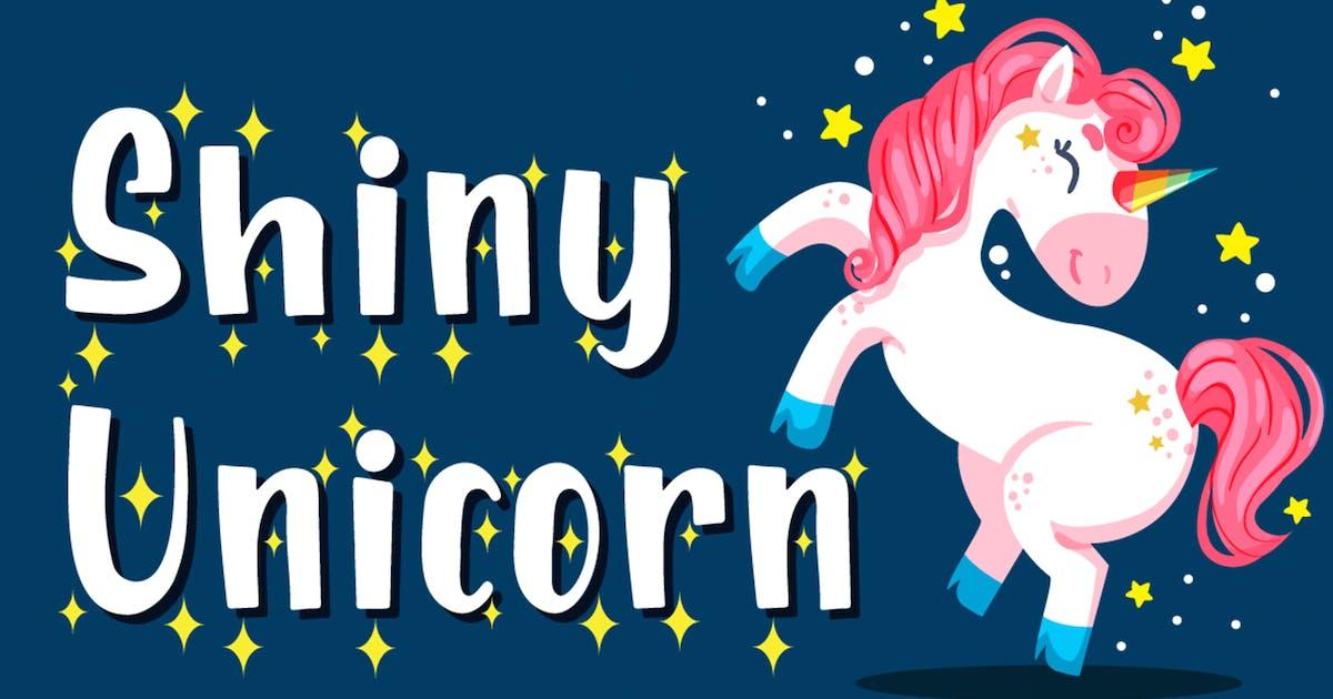 Download Shiny Unicorn - Display Font by Attype-Studio