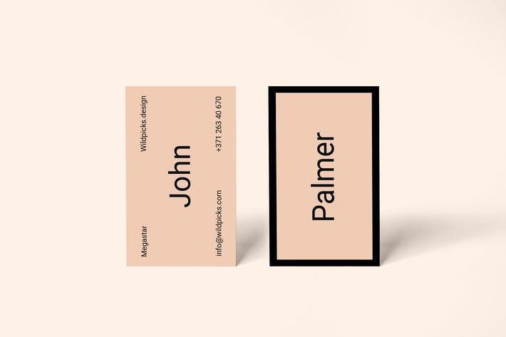 Realistic business card mockup by wildones on envato elements realistic business card mockup colourmoves