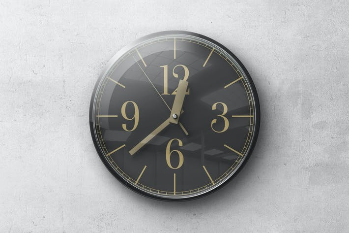 Thumbnail for Wall Clock Mockup