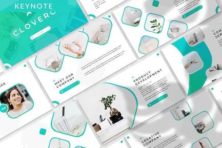 Clovero - Business Keynote Template