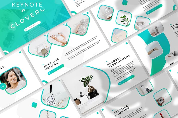 Cover Image For Clovero - Business Keynote Template