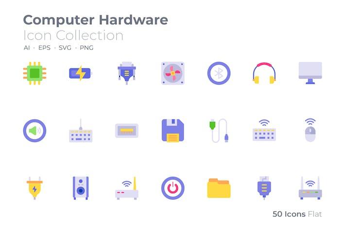 Computer Hardware Color Icon