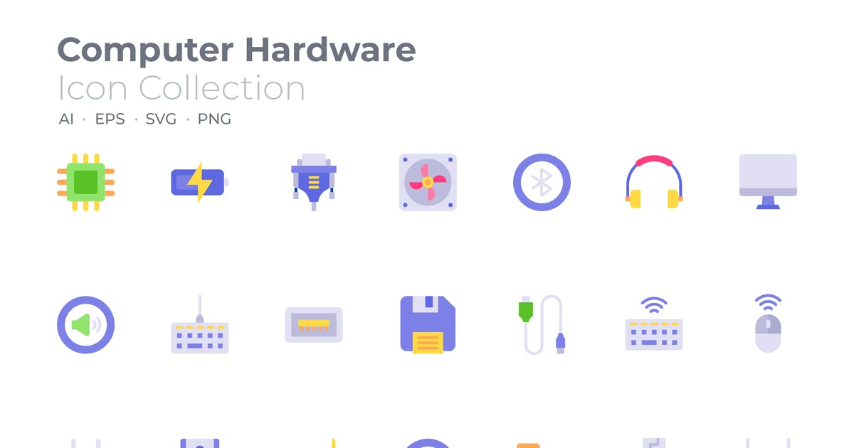 Download Computer Hardware Color Icon by GoodWare_Std