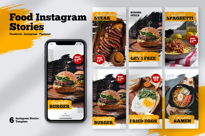 Restaurant Food Instagram Stories