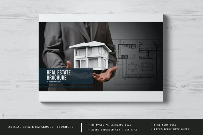 A5 Real Estate Catalogue / Brochure