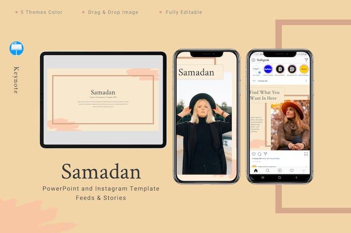 Thumbnail for Samadan - Keynote и шаблон Instagram