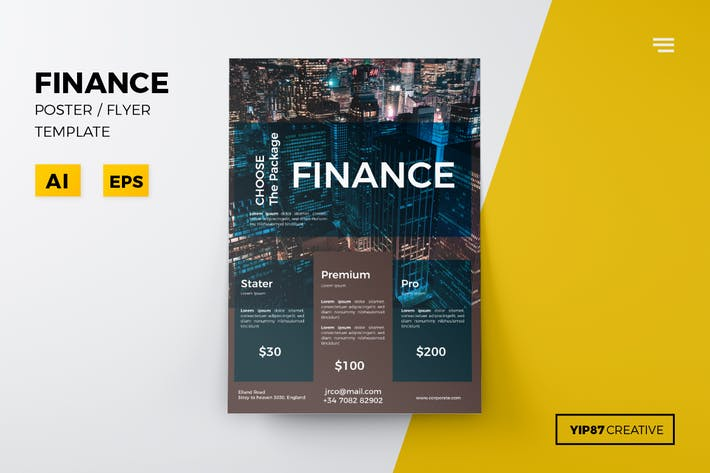 Thumbnail for Finance Flyer