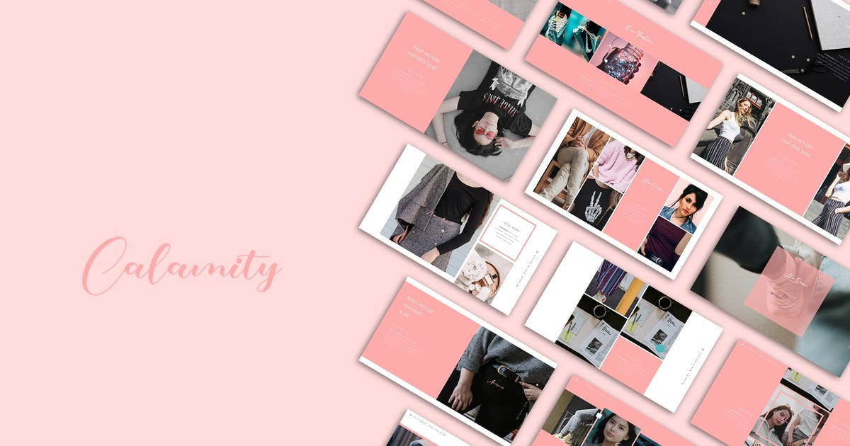 Download Calmity Pink PPt by celciusdesigns