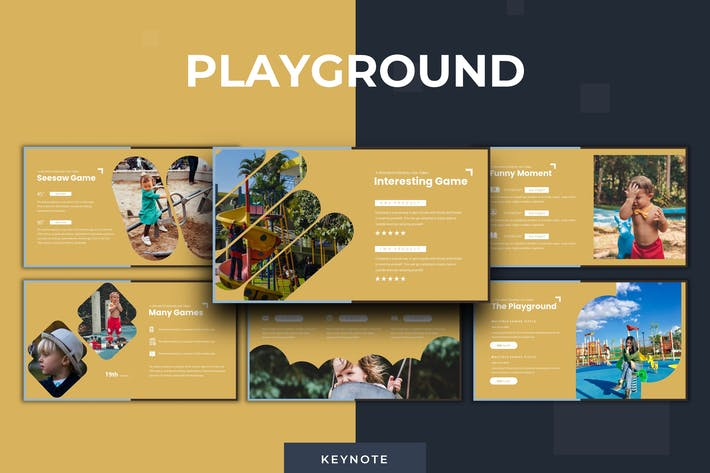 Thumbnail for Playground Template - Keynote Template