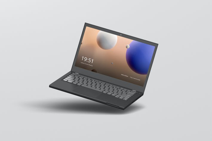Thumbnail for Laptop Screen Mockup 2