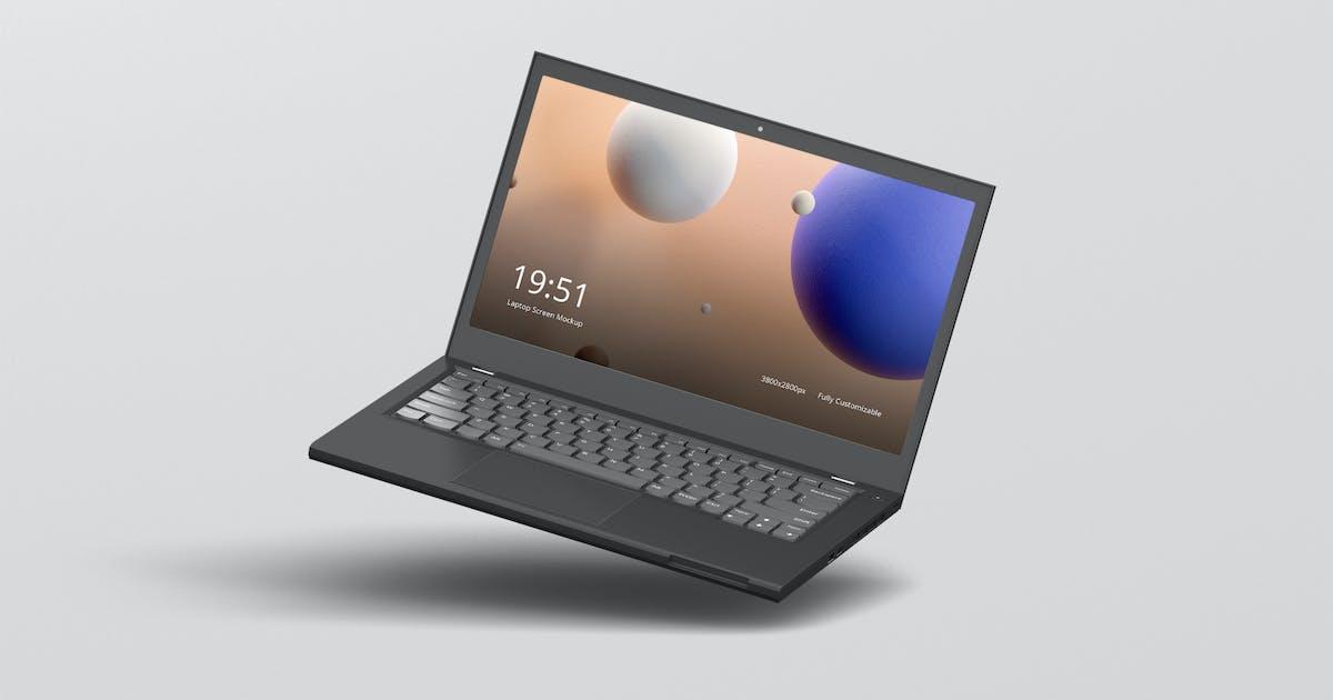 Download Laptop Screen Mockup 2 by visconbiz