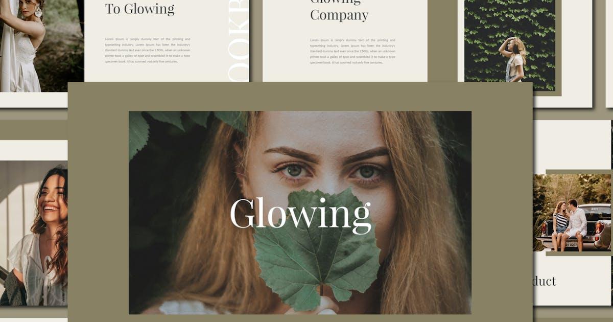 Download Glowing Powerpoint Template by axelartstudio