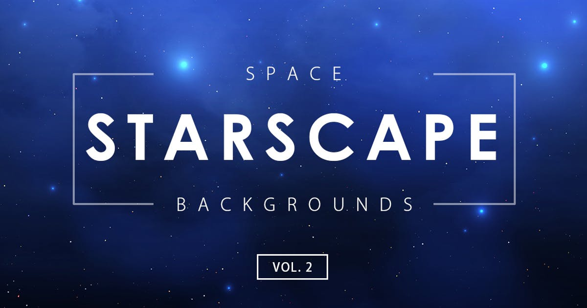 Download Space Starscape Backgrounds Vol. 2 by M-e-f