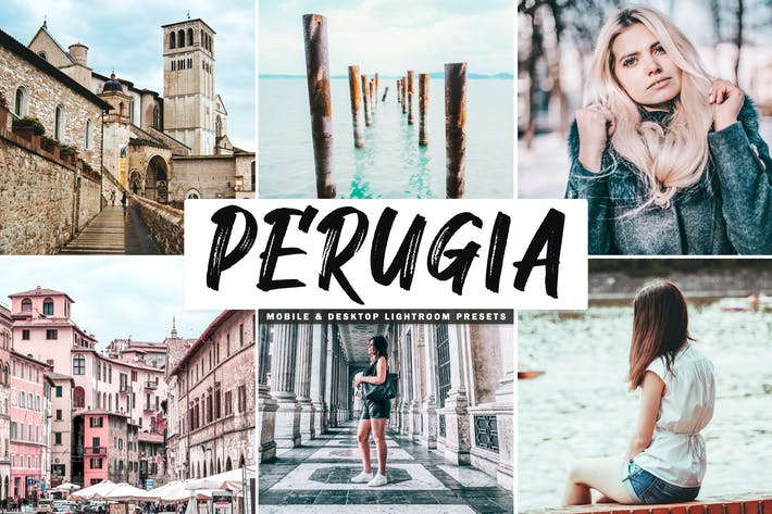 Thumbnail for Perugia Mobile & Desktop Lightroom Presets