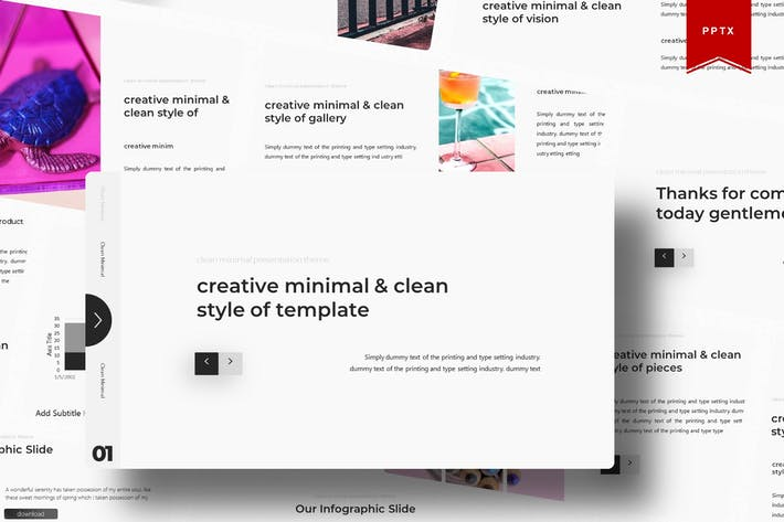 Creative | Powerpoint Template