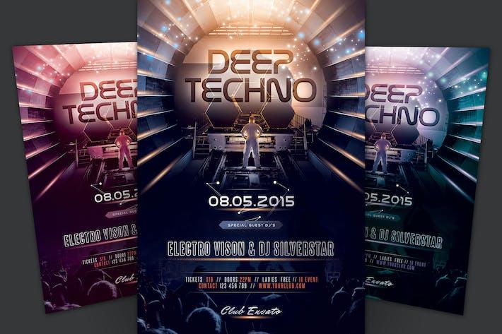 Thumbnail for Folleto Techno profundo